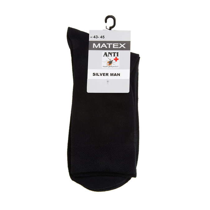 Men´s Matex socks with anti-bacterial protection., black , 919-6313 - 13
