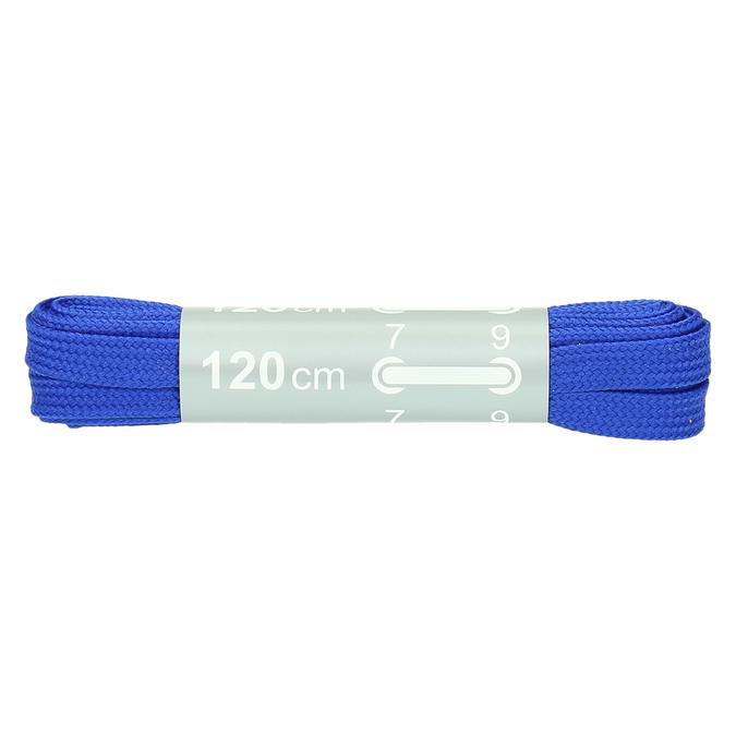 Colour laces bata, blue , 999-9266 - 13