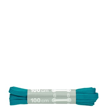 Colour laces bata, turquoise, 999-7366 - 13