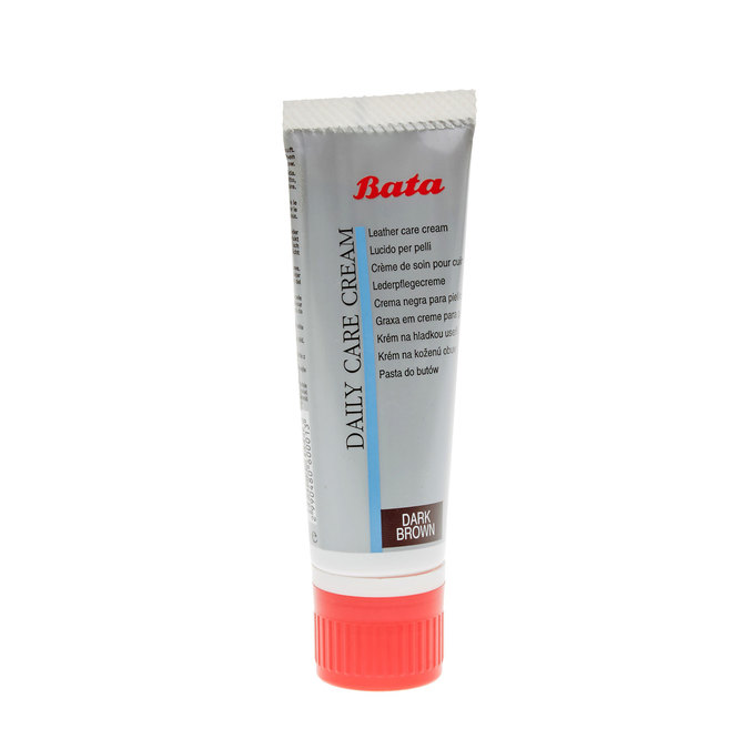 Leather shoe cream, brown , 990-4806 - 13