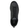 Men's black sneakers adidas, black , 801-6144 - 19