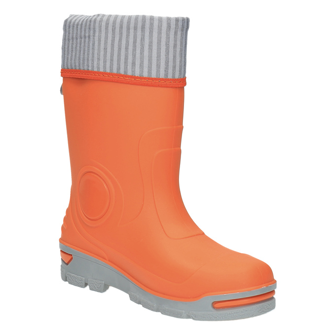 Children´s orange gumboots mini-b, orange, 292-8200 - 13