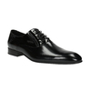 Leather shoes in an Oxford style conhpol, black , 826-6729 - 13