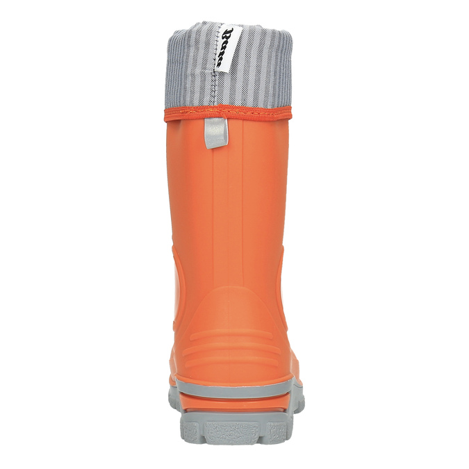 Children´s orange gumboots mini-b, orange, 292-8200 - 17