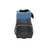 Children's ankle shoes bubblegummer, black , 111-6610 - 17