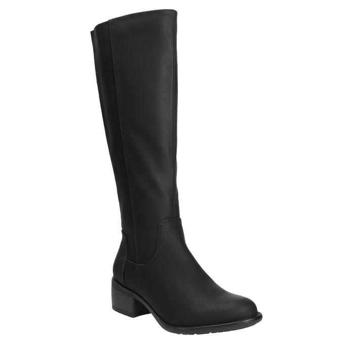 bata, black , 691-6600 - 13