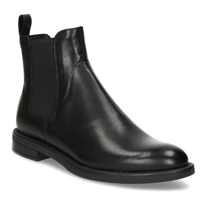 Black leather Chelsea Boots vagabond, black , 514-6007 - 13