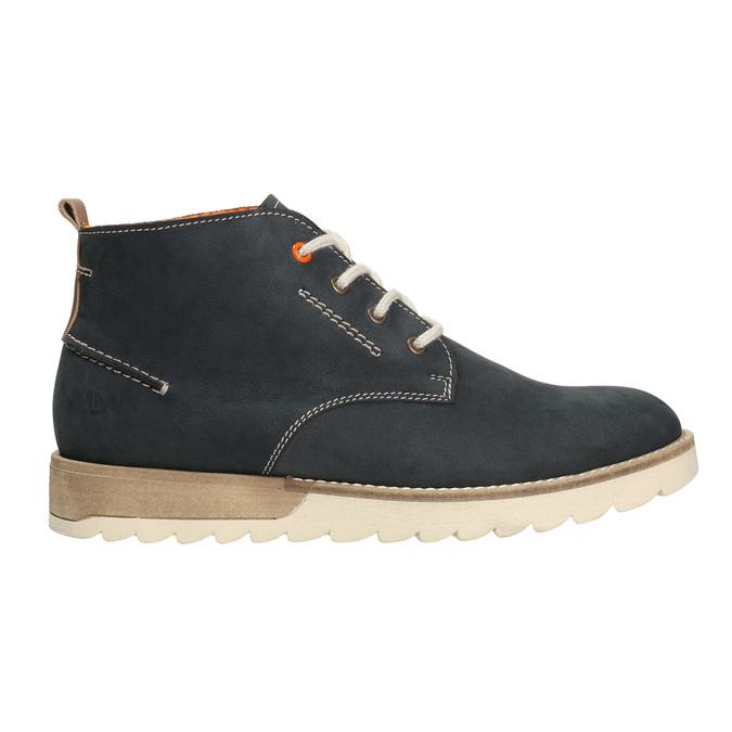 Men´s leather chukka boots weinbrenner, blue , 846-9629 - 26