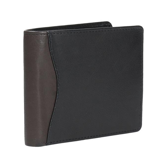Stylish men's wallet bata, black , 944-6177 - 13