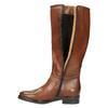 Ladies´ leather Cossacks bata, brown , 596-4608 - 19