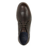 Leather Chukka Boots bata, brown , 824-4701 - 19