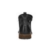 Men's leather ankle boots bata, black , 894-6660 - 17