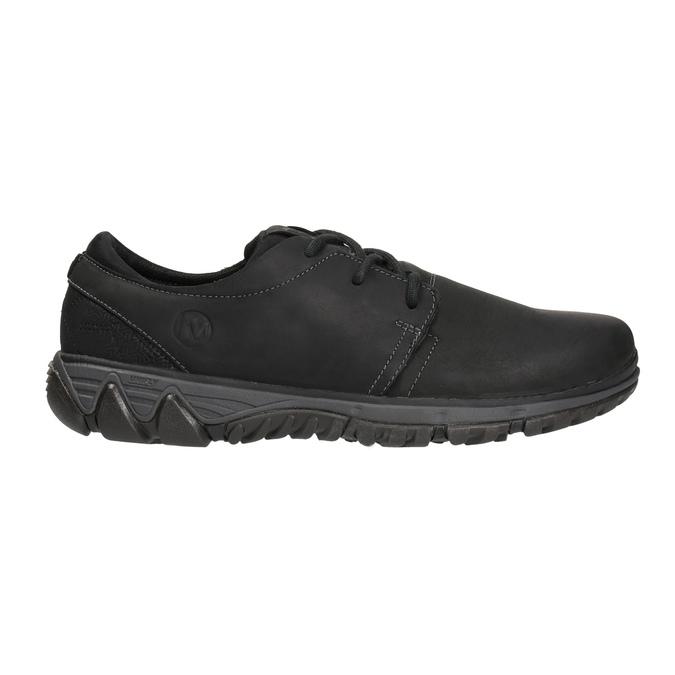 Men's leather sneakers merrell, black , 806-6846 - 15