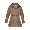Longer winter jacket bata, brown , 979-8649 - 26
