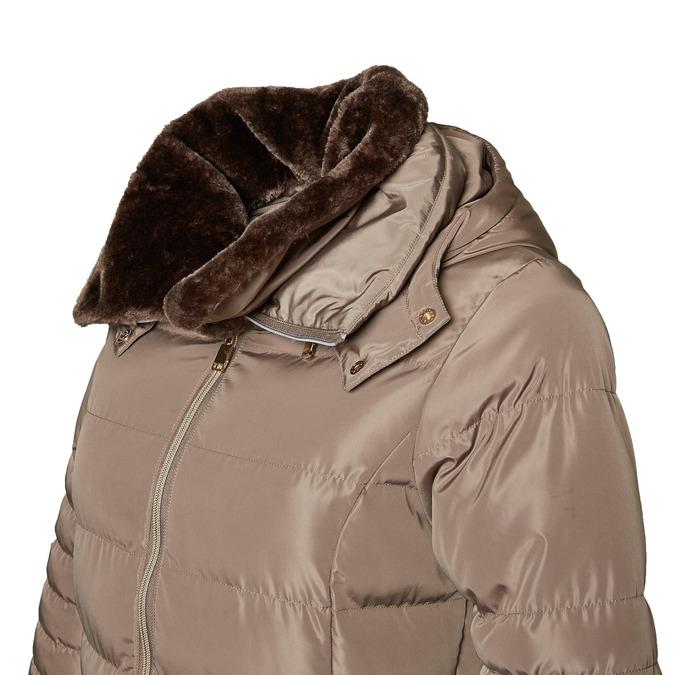 Longer winter jacket bata, brown , 979-8649 - 16