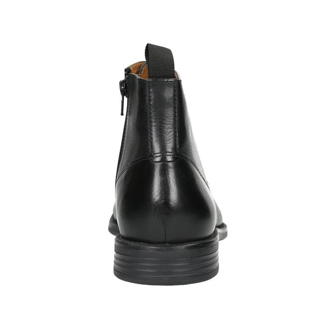 Leather ankle-cut shoes vagabond, black , 894-6001 - 17
