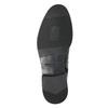 Leather ankle-cut shoes vagabond, black , 894-6001 - 19