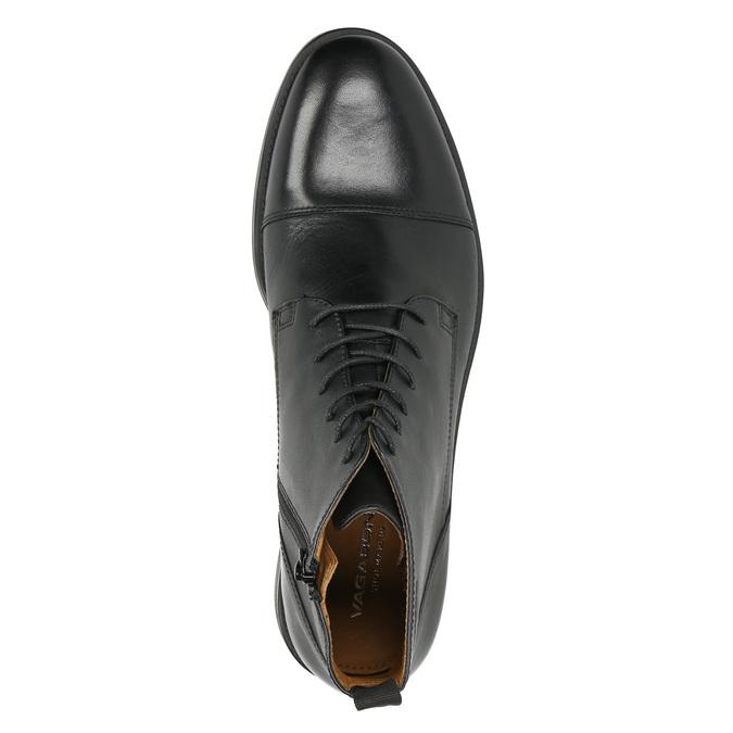 Leather ankle-cut shoes vagabond, black , 894-6001 - 26