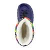 Children's insulated winter boots mini-b, blue , 292-9201 - 19