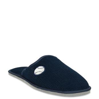 Men's slippers bata, blue , 879-9609 - 13