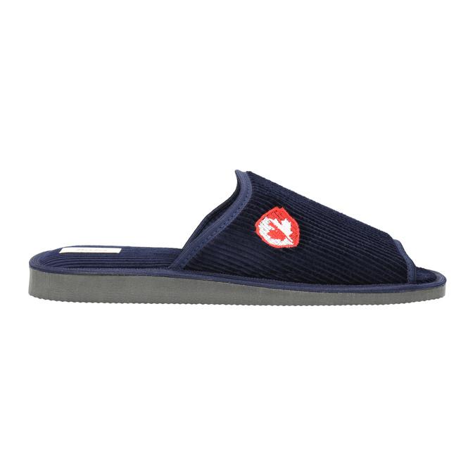 Men's slippers bata, blue , 879-9608 - 15