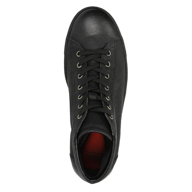 Ladies' ankle sneakers bata, black , 594-6659 - 19