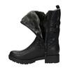 Trendy ladies´ Cossacks bata, black , 599-6610 - 19