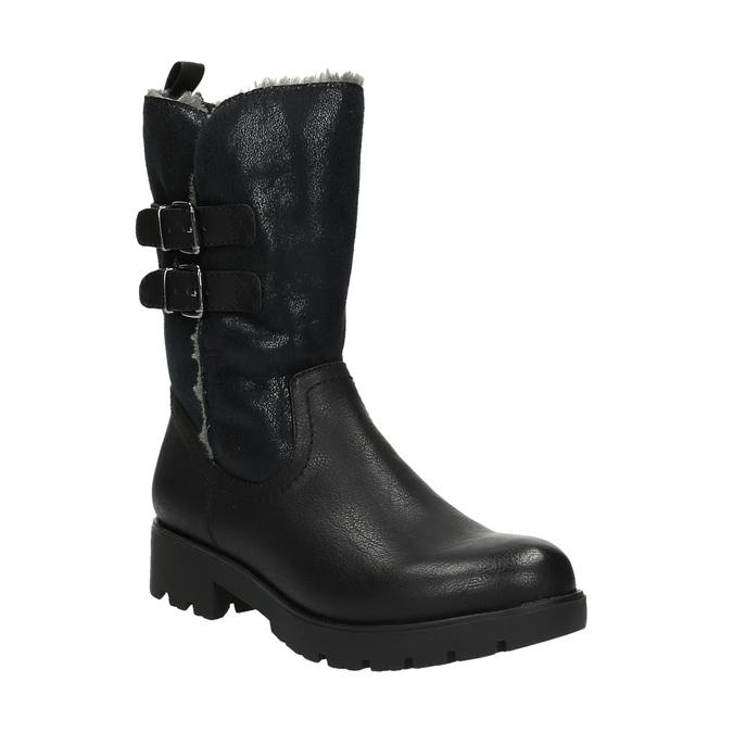 Trendy ladies´ Cossacks bata, black , 599-6610 - 13