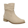 Ladies' high ankle boots bata, beige , 599-8614 - 13