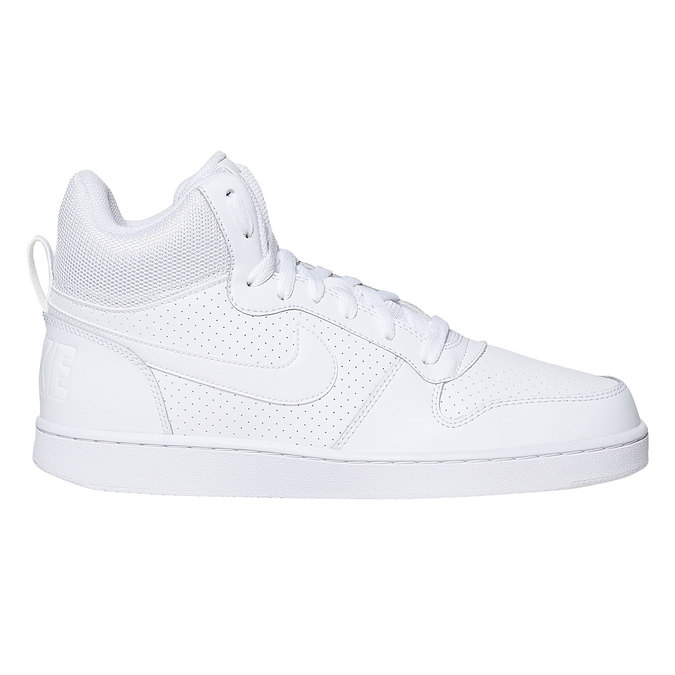 White ankle sneakers nike, white , 801-1332 - 15