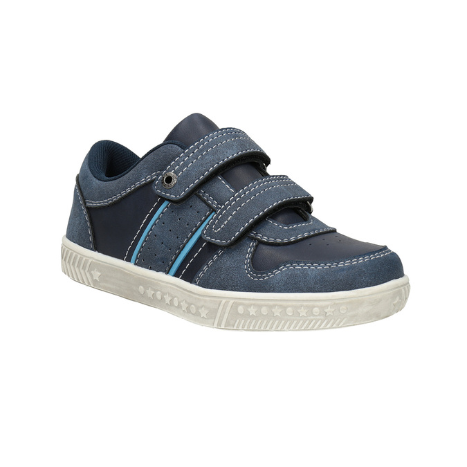 Children´s sneakers with quilting mini-b, blue , 411-9604 - 13
