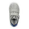 Children's leather sneakers with Velcro fastening mini-b, gray , 214-2600 - 19