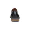 Men's black leather shoes bata, blue , 826-6793 - 17
