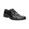 Men's leather shoes bata, black , 824-6839 - 13