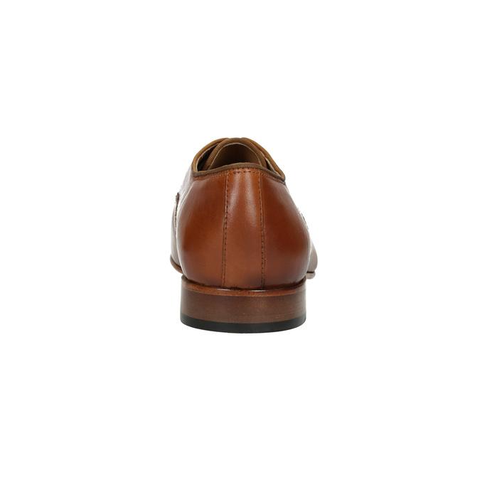 Men's leather shoes bata, brown , 826-3836 - 17