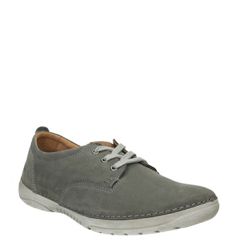 Casual leather shoes weinbrenner, gray , 846-2631 - 13