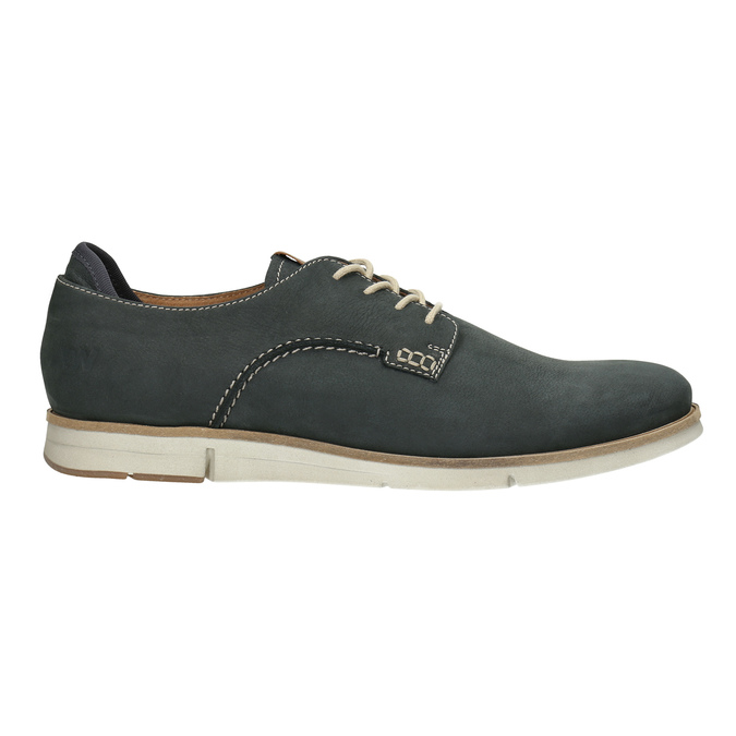 Casual leather shoes weinbrenner, blue , 846-9630 - 15