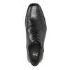 Men's leather shoes bata, black , 824-6839 - 19