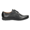 Ladies' leather low shoes bata, black , 526-6635 - 26