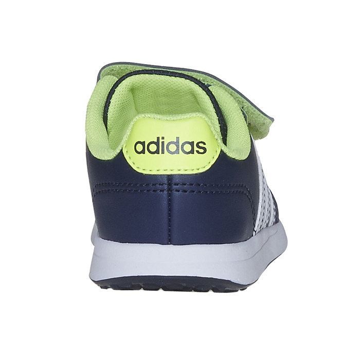 Children's sneakers with Velcro fasteners adidas, blue , 109-9163 - 17