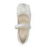 Children´s ballerina shoes with a ribbon mini-b, white , 321-1247 - 19
