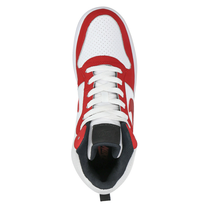 Men's ankle sneakers nike, red , 801-5332 - 19