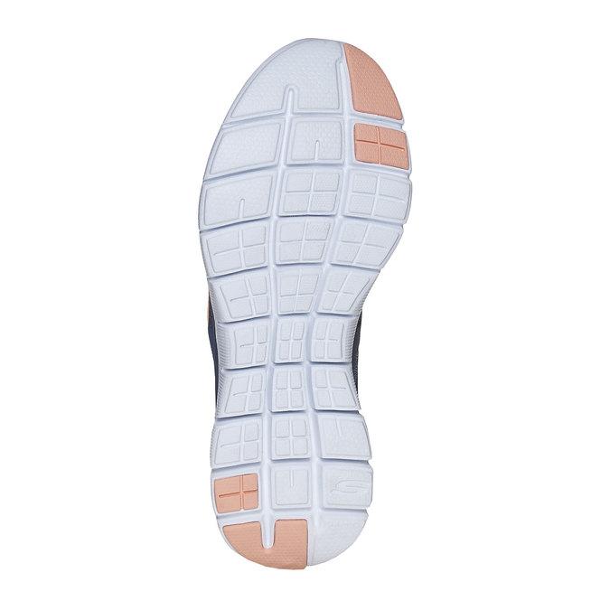 Ladies' sporty sneakers skechers, blue , 509-9963 - 26
