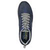 Men's sneakers with memory foam skechers, blue , 809-9141 - 19