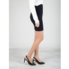Black leather pumps with open heel insolia, black , 724-6634 - 18