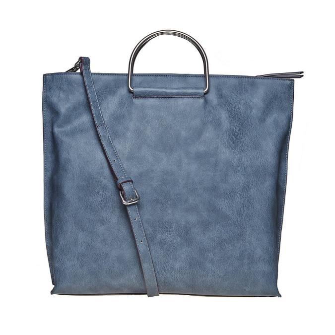 Ladies' blue handbag bata, blue , 961-9327 - 26