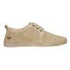 Casual leather shoes weinbrenner, beige , 523-2475 - 15