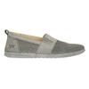 Ladies' leather slip-ons weinbrenner, gray , 513-2263 - 15