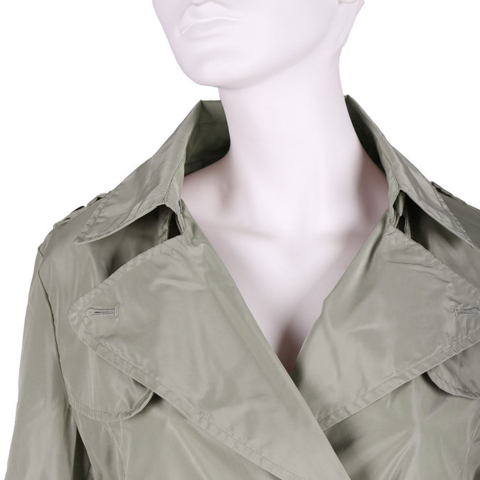 Ladies' trenchcoat-style jacket bata, beige , 979-8205 - 16