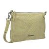 Ladies' leather crossbody handbag fredsbruder, green, 963-7031 - 13